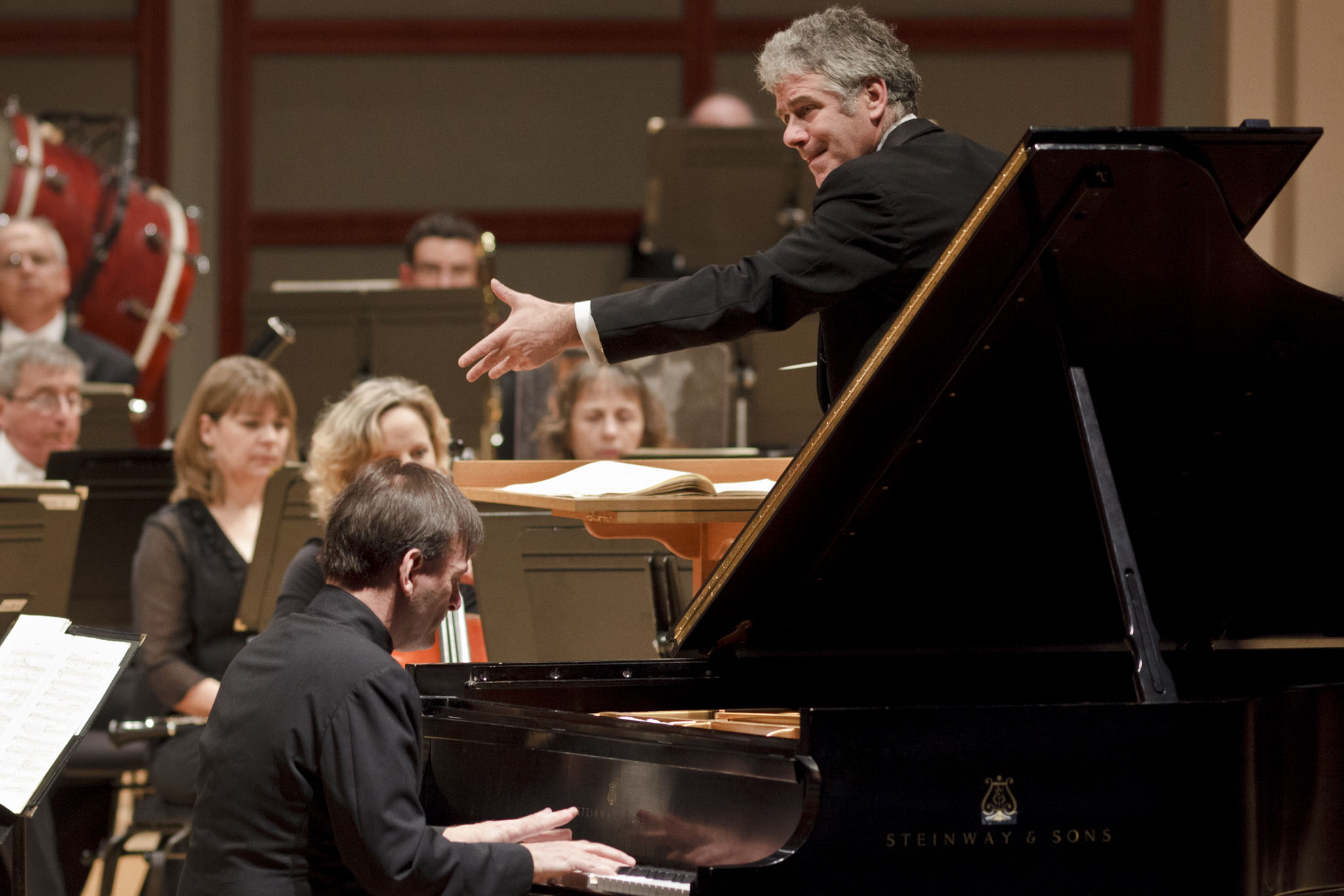 Hough Performs Brahms
